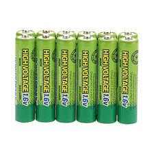 12pcs 3A 900mWh 1.6V Volt AAA Size NiZn Rechargeable Battery PowerGenix