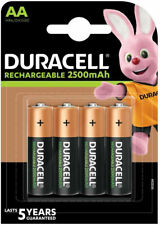 Duracell - 4 Batterie Stilo AA ricaricabili