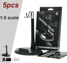 Set of 5 1/6 Scale Action Figure Base Display Stand U Type for Hot Toys NBI NBI
