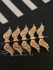 PJ323/ 15pc Tibetan Gold Charms Angel wings Spacer Beads Findings Wholesale