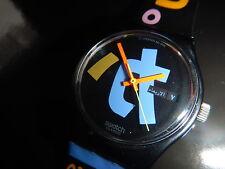 Rare swatch Automatic Prototype aluminio 1989 Harajuku Mix Day muy raras!