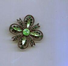 Rafaelian Green Maltese Signed Pin