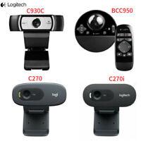 Logitech BCC950/C930C/C270/C270i 1080P/720P HD Mini Camera Webcam For Laptop DE