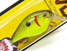 Strike King Black Back Chartreuse KVD 1.0 Square Bill Crankbait Fishing Lure
