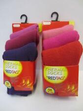 Calcetines de niña de 2 a 16 años rojo