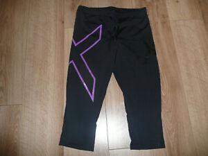 2XU compression leggins. wmn. black. M