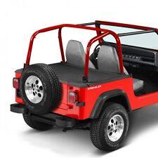 Jeep Wrangler YJ Duster Deck Cover Abdeckung Laderaum Schwarz Denim 92-95