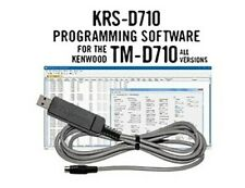 RT Systems KRS-D710-USB Programming Software w/ USB Cable for Kenwood TM-D710