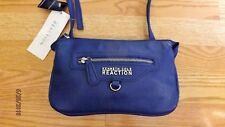 KENNETH COLE REACTION Royal Blue Leather Handbag NWT Crossbody