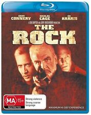 The Rock (Blu-ray, 2007) Sean Connery NEW AND SEALED BLU RAY FREE POST