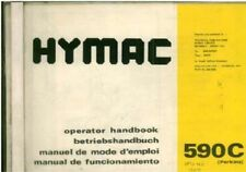 HYMAC EXCAVATOR 590C OPERATORS MANUAL