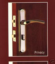 Privacy Door Lock and Lever  Handles Set  ( Forged  Brass )