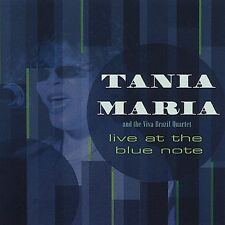 FREE US SHIP. on ANY 3+ CDs! USED,MINT CD Tania Maria: Live at the Blue Note