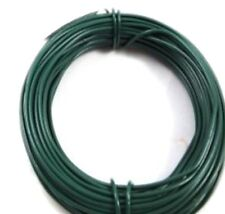 10 Rolls X  30m x 1.2mm ROLL OF PVC COATED GREEN GARDEN WIRE