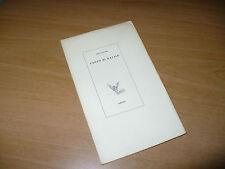 PAUL CLAUDEL CANTO DI NATALE CARPENA EDIT. 1966 I LIBRI DI ANTIGONE A.ANDREOLI