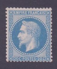 "FRANCE N°29B ""NAPOLEON III 20c BLEU TYPE II"" NEUFxx TTB"