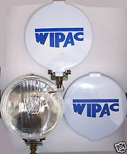 Classic Mini Spot Lights Driving Lamps - Wipac S6007 New Pair + Covers FREE DEL