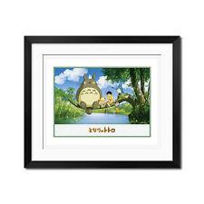 My Neighbor Totoro Go Fishing Poster Print