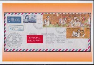 1970 Captain James Cook Special Delivery Australia POSTCARD A6 Size Photo Print