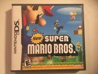 New Super Mario Bros. Nintendo DS, 2006) Complete Fast Ship Authentic Original