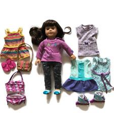 "American Girl 18"" Doll Samantha Parkington Outfits Lot Skates Dresses Set Swim"