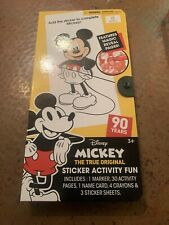 2 Pack Disney Mickey The True Original Fun On The Go Color N' Sticker Activities