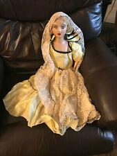 "1920s Boudoir Composition doll 28"" blonde hair M20"