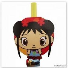 NI HAO KAI-LAN Party Supplies BLOWOUTS Favors Birthday Decoration Kailan Girl x8