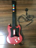 RED OCTANE GUITAR HERO SG CONTROLLER (SONY PLAYSTATION 2, PS2) MODEL PSLGH