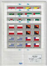 Lotto # 1434 ONU NY  1984 Serie Flag in foglietti MNH