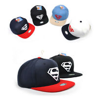 Superman Herren Damen Basecap Mütze Fläche Baseball Cap Kappe Hüte Hiphop Hut