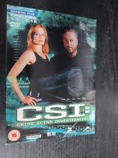 ***CSI: Crime Scene Investigation - Las Vegas - Season 5 Part 1*** FREE P&P