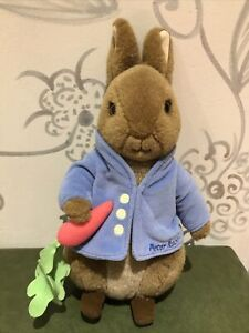 Peter Rabbit soft toy collectable 2008 by Frederick Warne & Co.