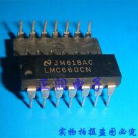 5pcs LMC660CN DIP-14 LMC660 CMOS NSC Quad Operational Amplifier IC US
