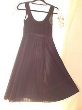 Black cocktail dress by Morgan. Size S.