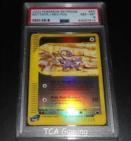 PSA 8 NM-MINT Rattata 90/144 Skyridge REVERSE HOLO Pokemon Card