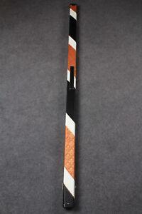 New One Piece Slimline Patchwork Leatherette Cue Case Single Slot G61521