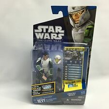 Star Wars The Clone Wars 2010 CW41 CLONE TROOPER HEVY w/ Firing Cannon NEW MOC