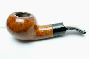 Excellent Vintage Mastercraft De Luxe Large Smooth Ball Shaped Briar Pipe- Nice!