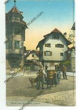 LUZERN,SWITZERLAND-PARTIE AUS DEM ALTEN-DOG CART-PRE1920-(DAIRY-39)