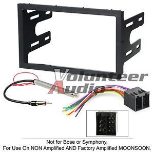 VolKSwagen Double Din Car Radio Stereo Installation Dash Kit Wiring Antenna