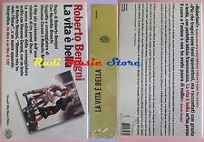 film VHS LA VITA E' BELLA COFANETTO FILM+LIBRO SIGILLATO Benigni (F24) no dvd