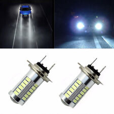 H7 5630SMD White 660LM 33 LED Light Car Fog Head Light Driving Bulbs 6000-8000K