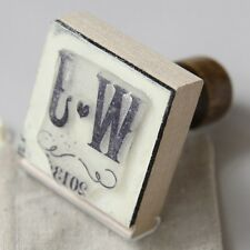 Personalized Vineyard Rubber Stamp DIY Bridal Shower Wedding Favor Decoration