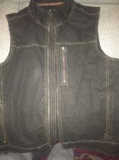 Men's XL Black Kuhl Vest
