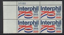 ALLY'S STAMPS US Plate Block Scott #1632 13c Interphil '76  [4] MNH [UL]