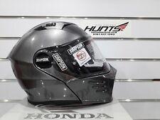 Simpson Darksome Motorcycle Helmet: Gunmetal: Medium