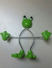 Frog Picture Holder. Holds 4x5 or smaller Photos. Brand New no Tags