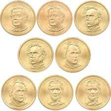 2010 P&D $1 Presidential Dollar 8 Coin Set Uncirculated Mint State