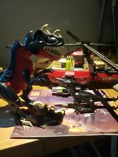 LEGO Dino Attack T-1 Typhoon vs T-Rex (7477) incomplete Helicopter Dinosaurs
